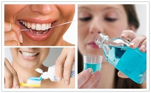 Mọc răng khôn nên vệ sinh răng miệng sạch sẽ