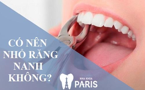 Có nên nhổ răng nanh không? Trường hợp nào có thể thực hiện nhổ răng nanh 1