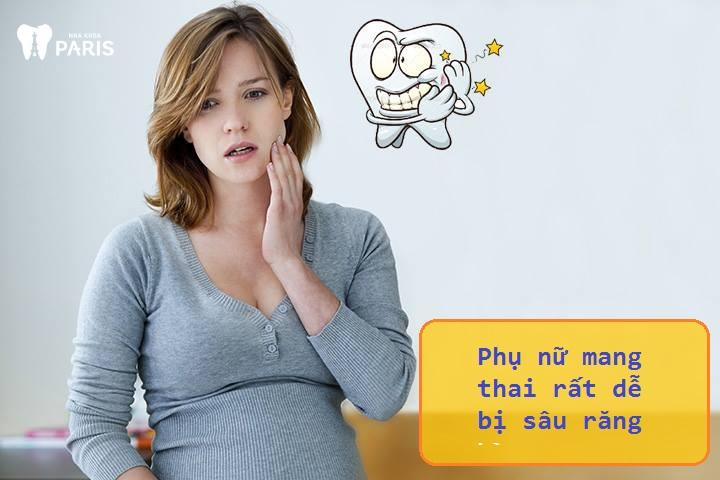 Nhổ răng hàm khi mang thai là cách chị em chọn khi bị sâu