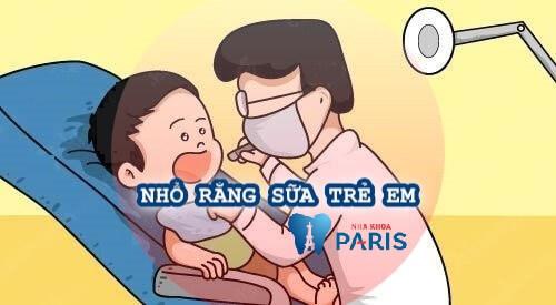 Những điều cần biết cho cha mẹ khi nhổ răng sữa trẻ em 1