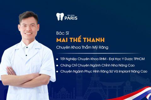 Bác sĩ Mai Thế Thanh