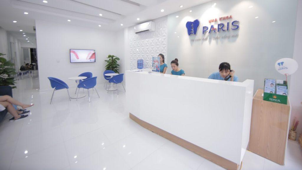 Hệ thống phòng khám hiện đại của nha khoa Paris