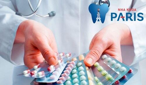 Sự dụng thuốc kháng sinh giảm đau