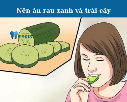 Nhổ răng khôn xong nên ăn gì