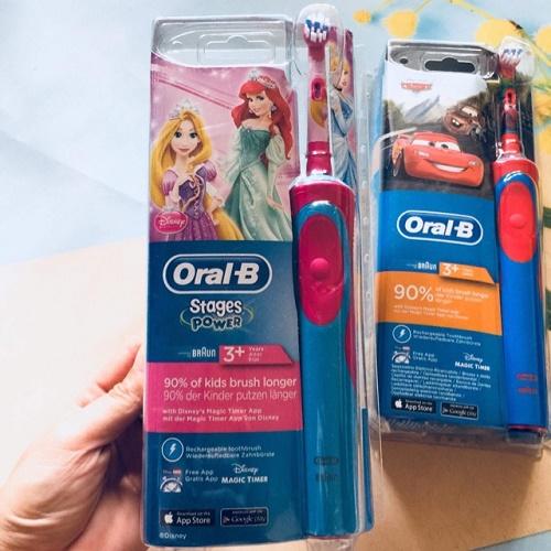 bàn chải đánh răng điện oral b cho bé