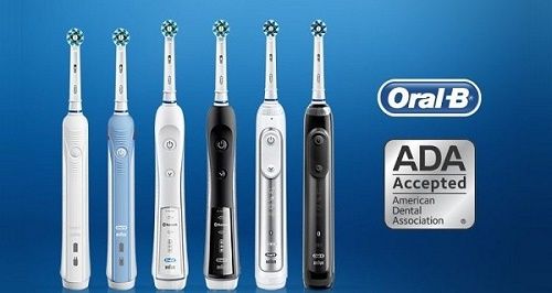 bàn chải điện oral b có mấy loại