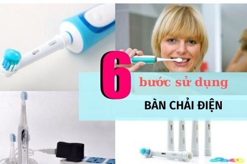 cách sử dụng bàn chải đánh răng điện