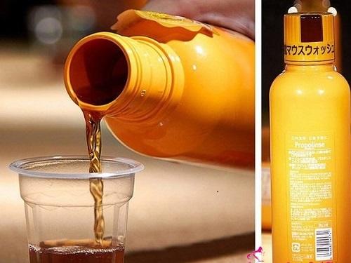 Cách sử dụng nước súc miệng propolinse nhật bản 600ml