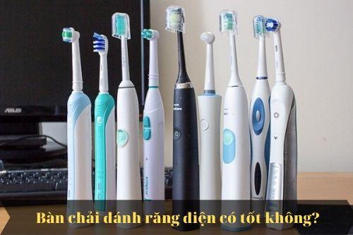 Có nên dùng bàn chải điện oral b