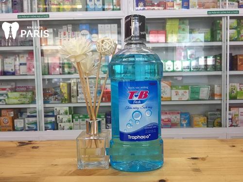 giá nước súc miệng tb fresh