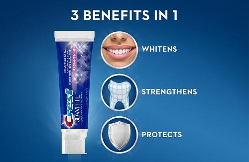 Kem đánh răng Crest 3D White Radiant Mint 181g
