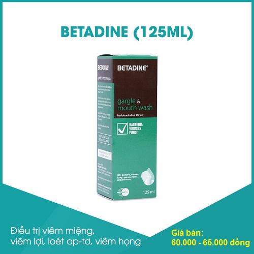 nước súc miệng betadine giá bao nhiêu