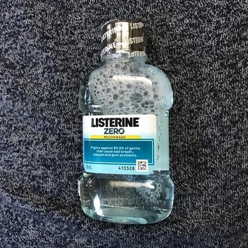 nước súc miệng listerine zero