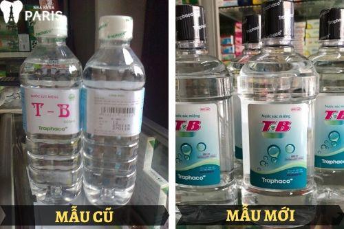 nước súc miệng tb 500 ml