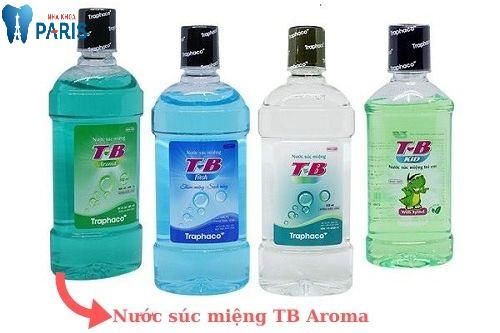 nước súc miệng TB Aroma