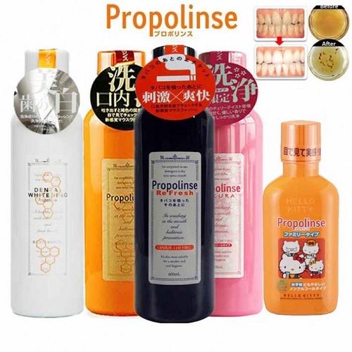 tác dụng của nước súc miệng propolinse