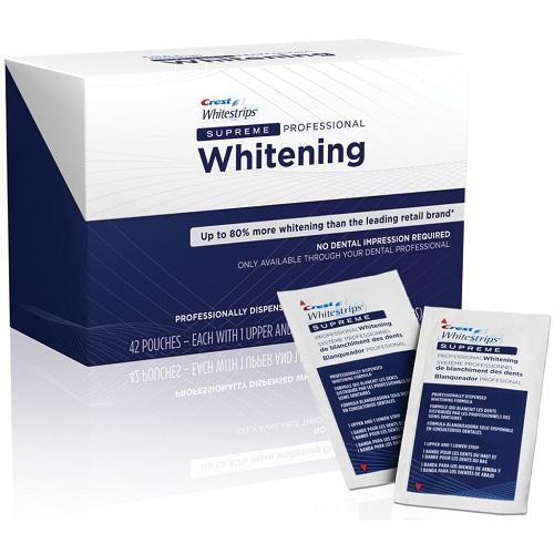 Cách sử dụng miếng dán trắng răng crest 3d white supreme flexfit