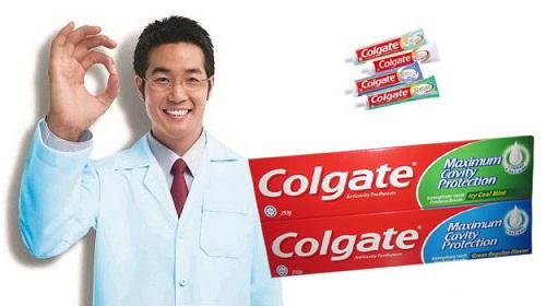 công ty sản xuất kem đánh răng colgate