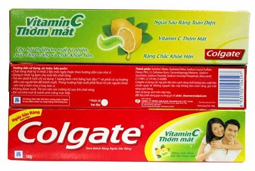 Giá kem đánh răng Colgate Vitamin C