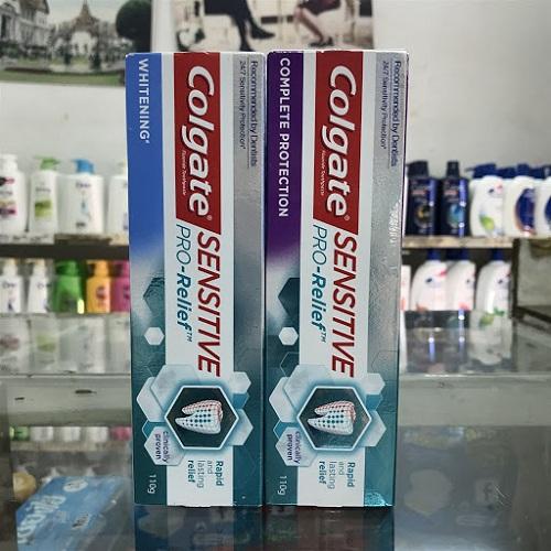Giới thiệu về kem đánh răng Colgate Sensittive pro-relief