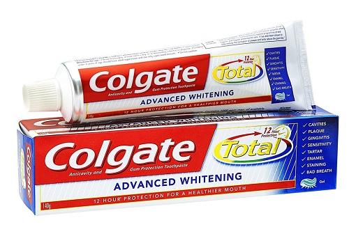 kem đánh răng colgate total mỹ