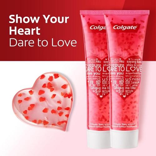 Thành phẩn của kem đánh răng Colgate Dare to love