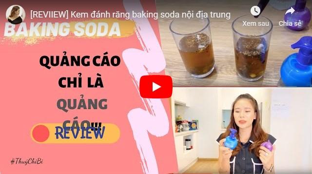 Video kem đánh răng baking soda có tốt không